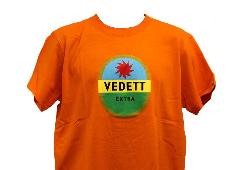 ヴェデット オレンジ Tシャツ(S)