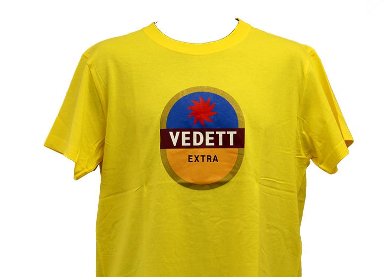 ヴェデット イエロー Tシャツ(S)